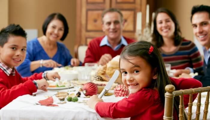 Comer en familia forma parte de una vida saludable
