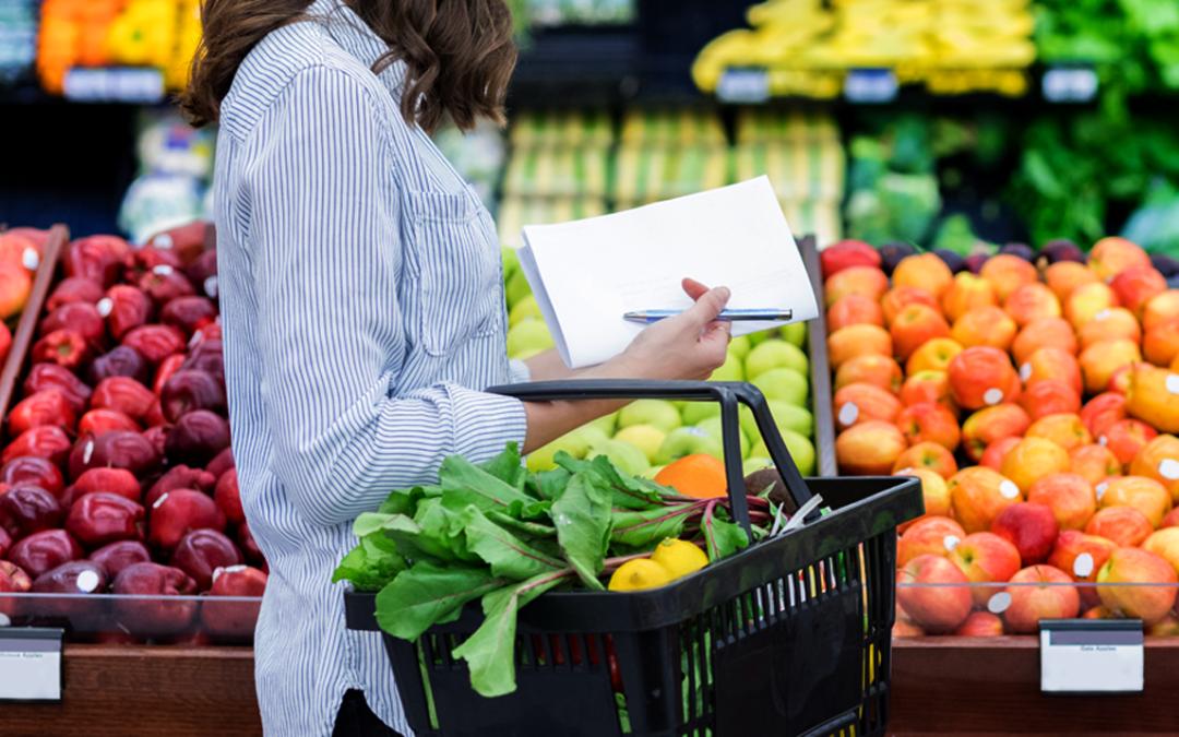 Lista básica de alimentos saludables para iniciar una alimentación saludable y balanceada