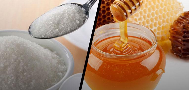 Diferencias entre azúcar y miel de abeja ¿Qué es mas sano?